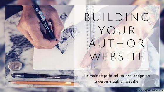 Author Website Set Up And Design