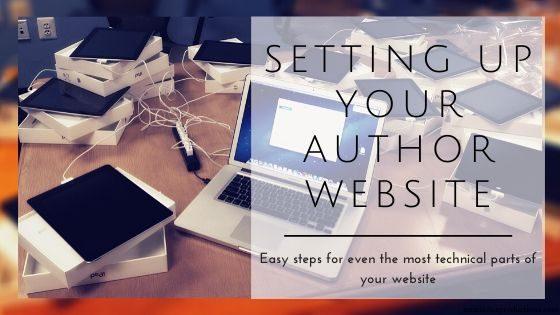 Author Website Accounts