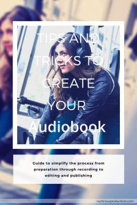 DIY Publishing Audiobook tips pinterest