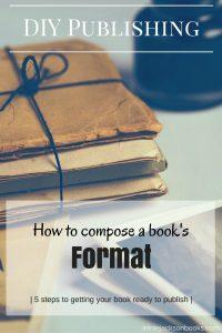 DIY Publishing Book Format books pinterest
