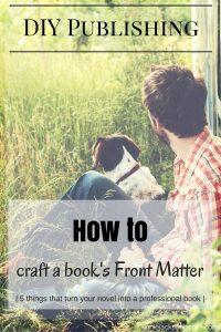 DIY Publishing Book Matter guy dog pinterest