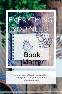 DIY Publishing Book Matter pinterest