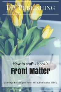 DIY Publishing Book Matter tulips pinterest