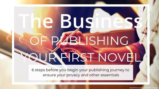 DIY Publishing Business blog title
