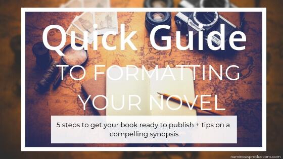 DIY Publishing Formatting blog title