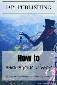 DIY Publishing Privacy woman keys pinterest